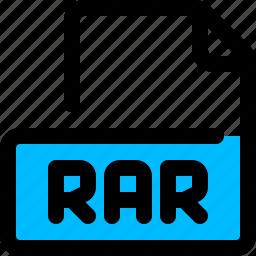 file, filetype, format, rar icon