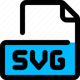 file, format, svg, vector icon