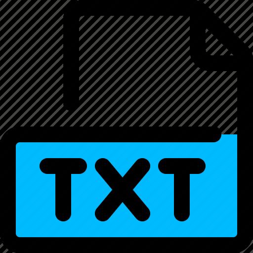 file, filetype, text, txt, txt format icon