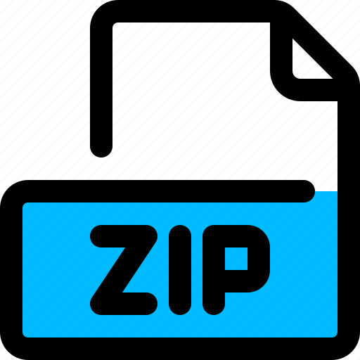 compressed, document, file, filetype, zip icon
