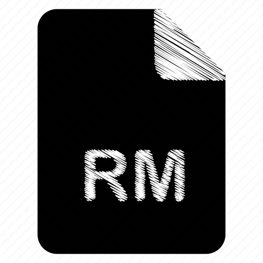 document, file, format, rm, type icon