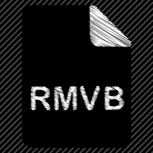 document, file, format, rmvb, type icon