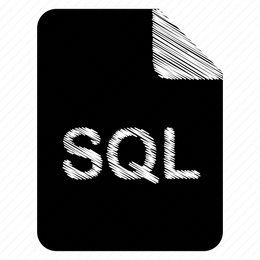 document, file, format, sql, type icon