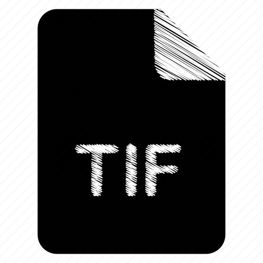 document, file, format, tif, type icon