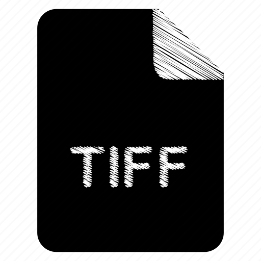 document, file, format, tiff, type icon