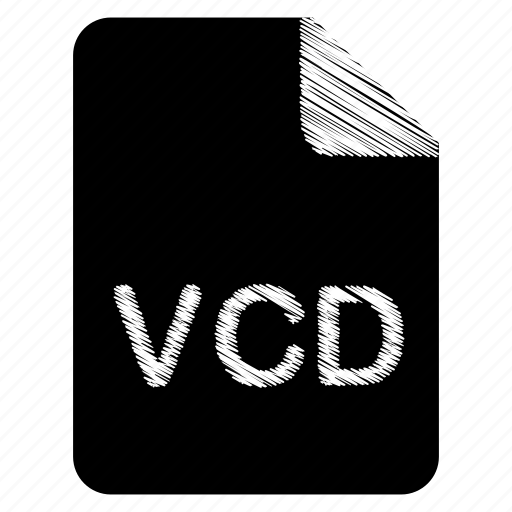 document, file, format, type, vcd icon