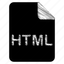 document, file, html