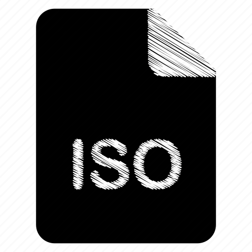 document, file, format, iso, type icon