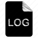 document, file, log