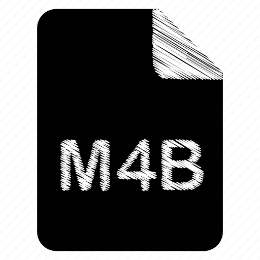 document, file, format, m4b, type icon