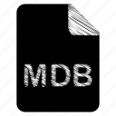 document, file, mdb