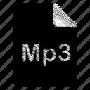 document, file, mp3
