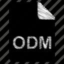 document, file, odm