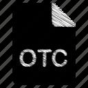 document, file, otc icon