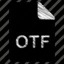 document, file, otf