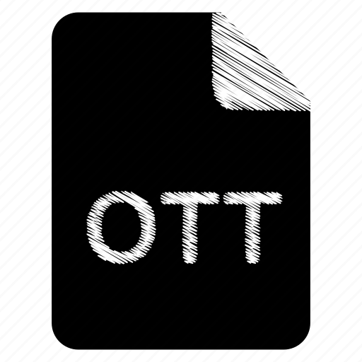 document, file, format, ott, type icon
