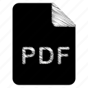document, file, pdf