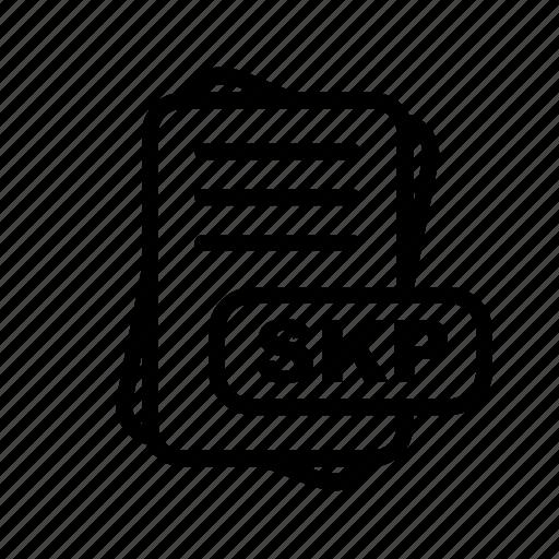 file, file format, format, skp icon