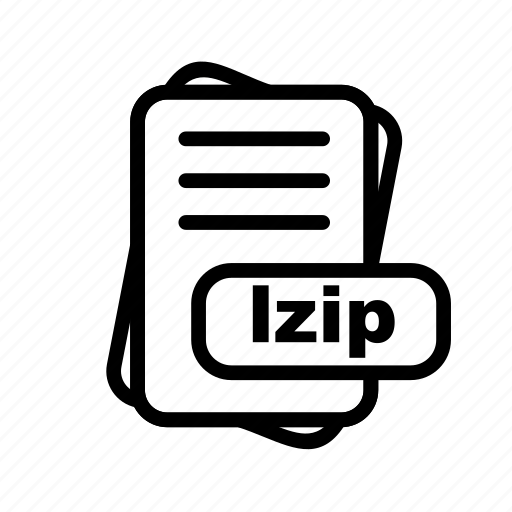 File, format, lzip icon - Download on Iconfinder
