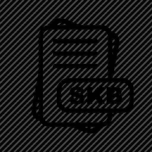 File, format, skb icon - Download on Iconfinder