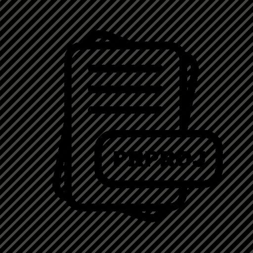 file, file format, format, prproj icon
