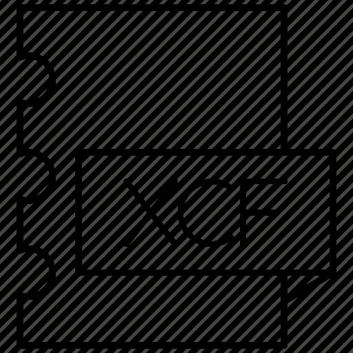 computing, experimental, facility, gimp, xcf icon