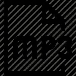 document, file, mp3, wav icon