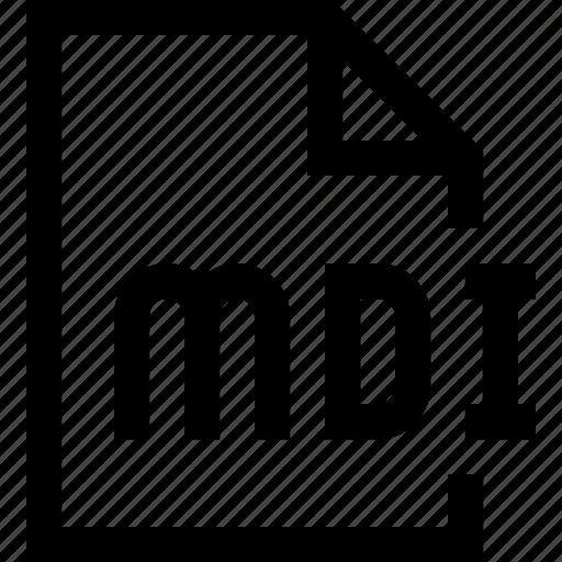 document, file, mdi icon