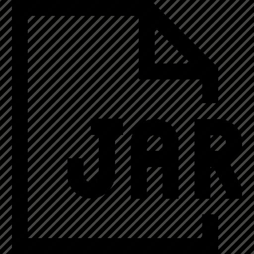 document, file, jar icon