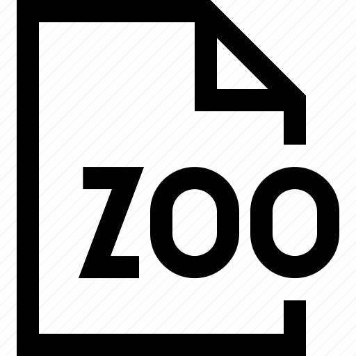 document, file, zoo icon