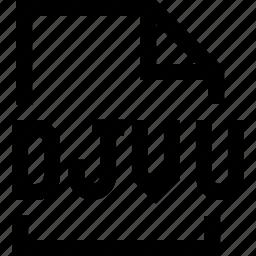 djvu, document, file icon