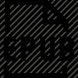 document, epub, file icon