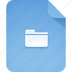 extension, file, folder icon
