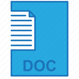 doc, document, file, letter icon
