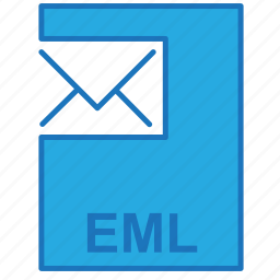 e-mail, email, eml, file icon