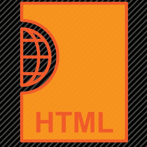 code, file, html, internet icon