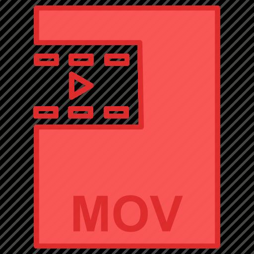 file, film, mov, movie icon