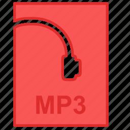 file, listening, mp3, music icon