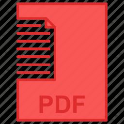 adobe, document, file, pdf icon