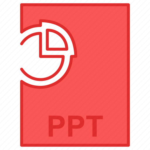 file, office, ppt, presentation icon