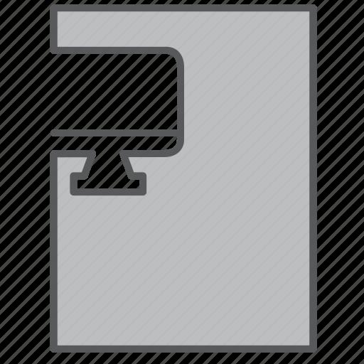 computer, file, imac, mac, pc icon