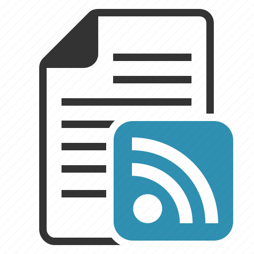 document, feed, feeds, file, news, page, paper, rss, share, sheet, subscribe, subscribtion, text, wifi icon