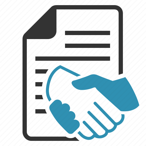 agreed, agreement, contract, convention, deal, document, file, hands, handshake, investment, page, paper, partnership, sign, signed, text, treaty icon