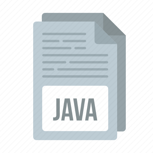 document, extensiom, file, format, java, java icon icon