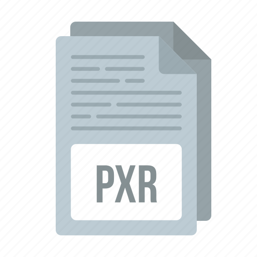 document, extensiom, file, format, pxr, pxr icon icon