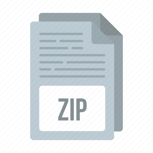 document, extensiom, file, format, zip, zip icon icon