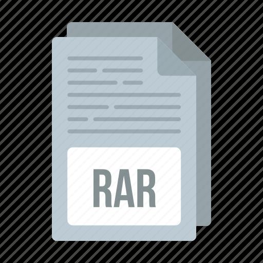 document, extensiom, file, format, rar, rar icon icon