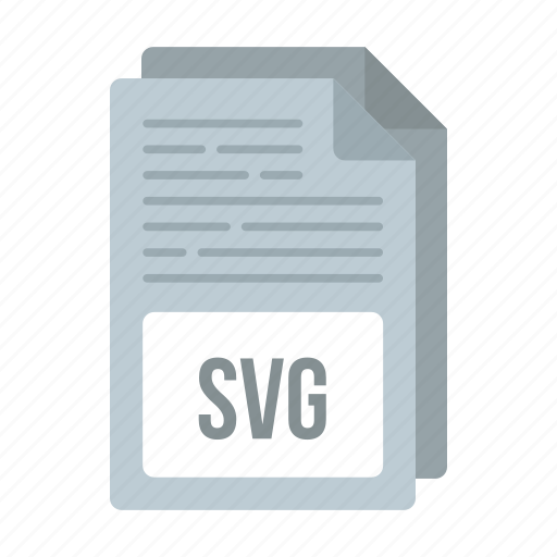 document, extensiom, file, format, svg icon icon