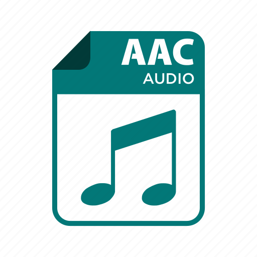 aac, file, icon2, types icon