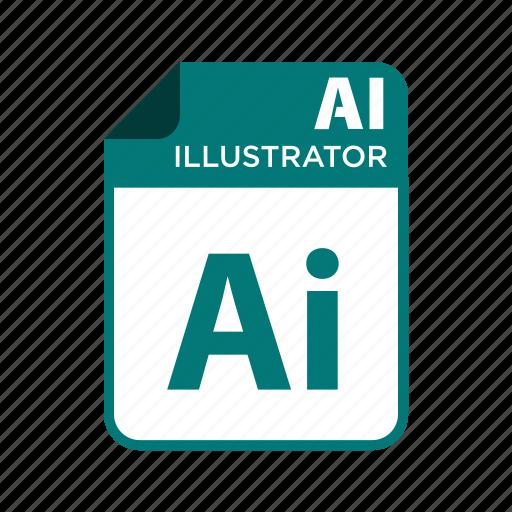 file, icon2, illustrator, types icon